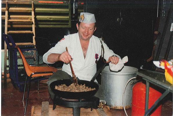 Le Chef aux fourneaux
