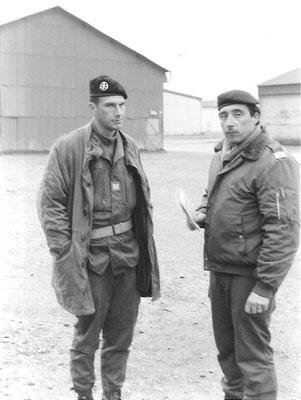Les Stéphanois : CNE GENTHIALON CUE 3e Cie, CNE VAUCANSON officier RENS