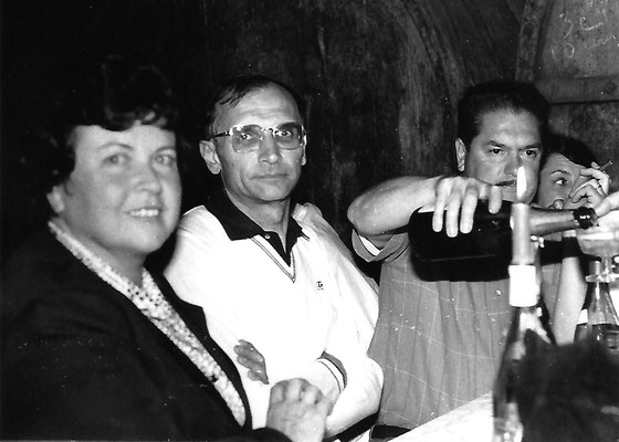 Gérard CHARREYRON et son épouse, Yves FERNANDEZ et son épouse
