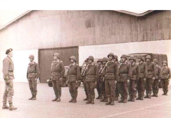 6e Cie (à gauche LTN MARIN)