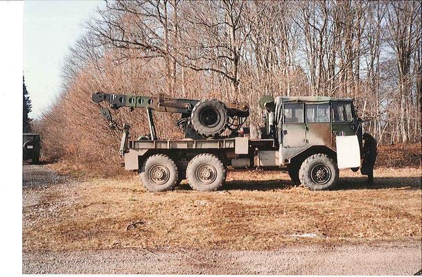 Le TBU, véhicule de dépannage des VAB