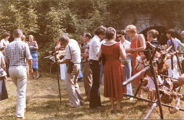 Le chef de corps réunit ses cadres et famille autour d'un méchoui