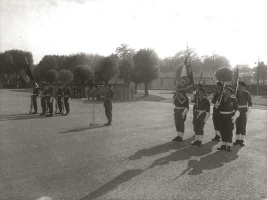 Garde au Drapeau du 99e R.I., colonel ROUX, Garde au Drapeau du 299e R.I.