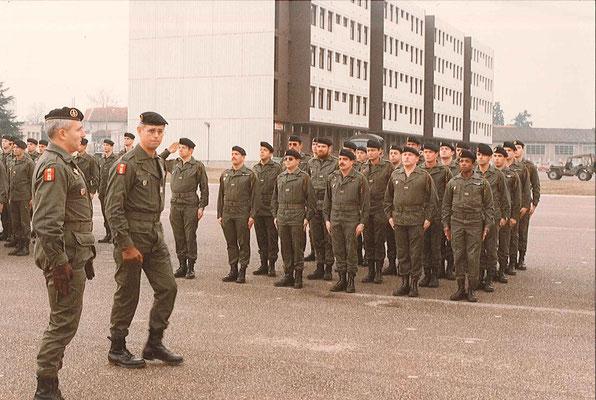 Colonel GIRAUD, chef de corps, X