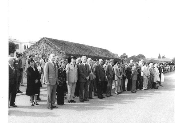 Les invités parmi lesquels Mick Micheyl.