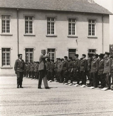 Revue des troupes.