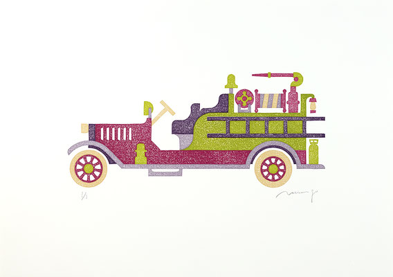 Toy 2020 PLUM FIRE TRUCK