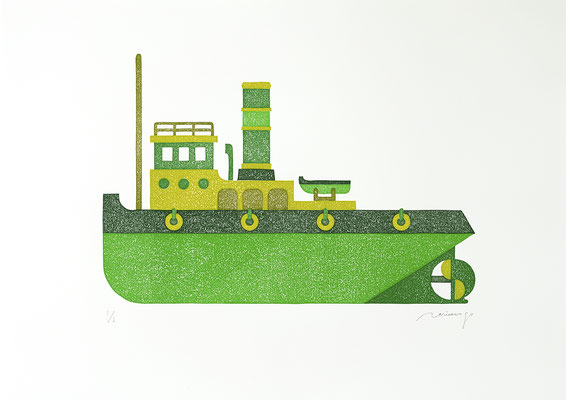 Toy 2020 GRASS GREEN TUGBOAT