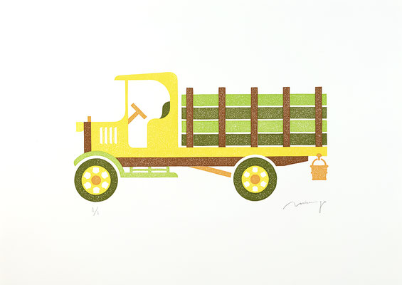 Toy 2020 SUNFLOWER TRUCK