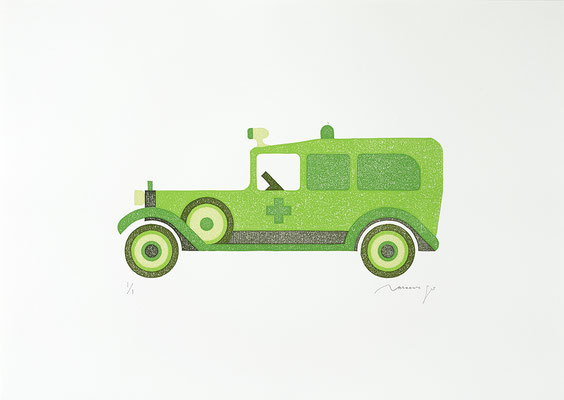 Toy 2020 LIME AMBULANCE