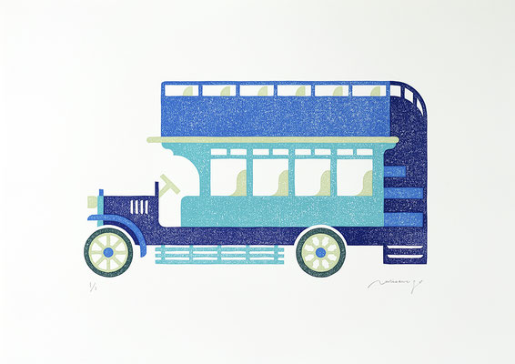 Toy 2020 LAGOON  BLUE  BUS