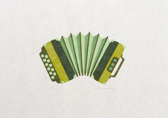 Toy 2017 AVOCADO ACCORDION