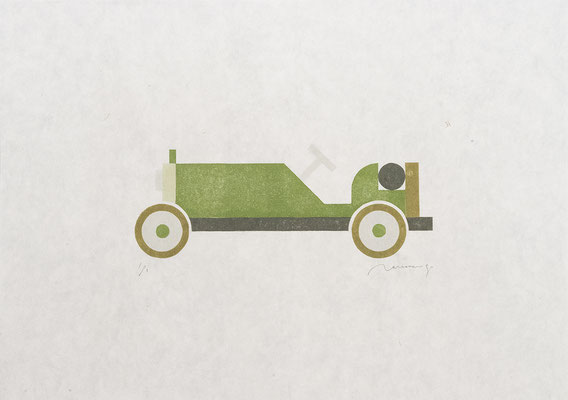 Toy 2017 OLIVE CAR