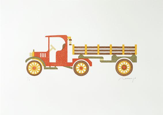 Toy 2020 TANGERINE TRUCK