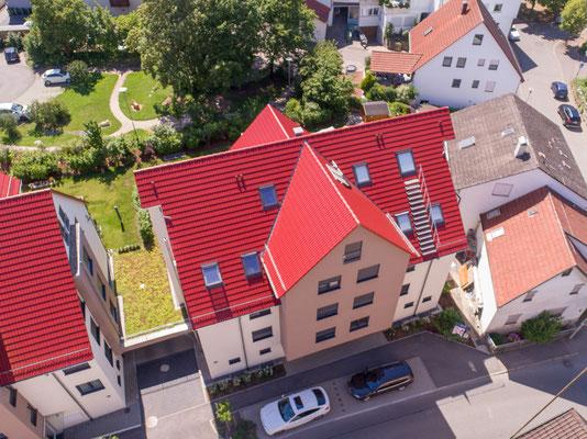 Neubau zweier Mehrfamilienhäuser mit 40 Tiefgaragen-stellplätzen