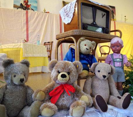 Original Radio und Teddybären