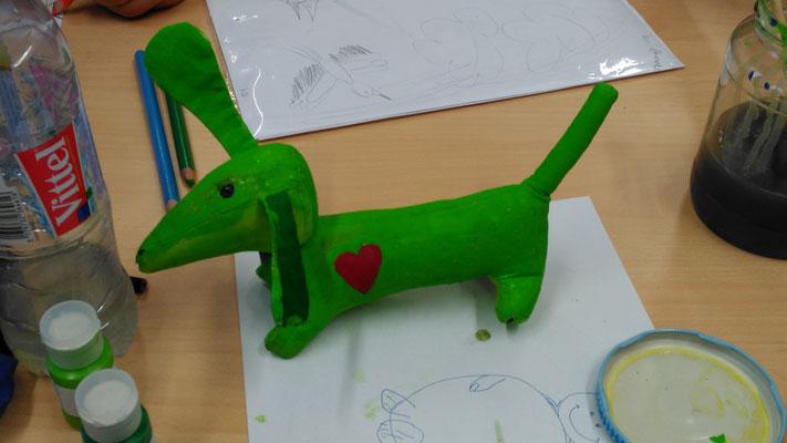 Le Chien vert - der grüne Hund