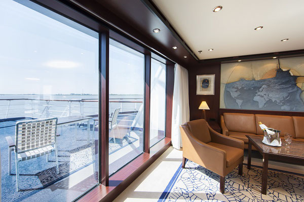 Blick aus einer Suite