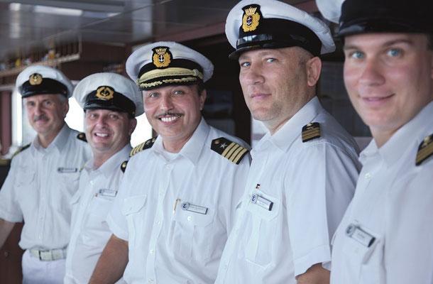 Die herzliche Crew