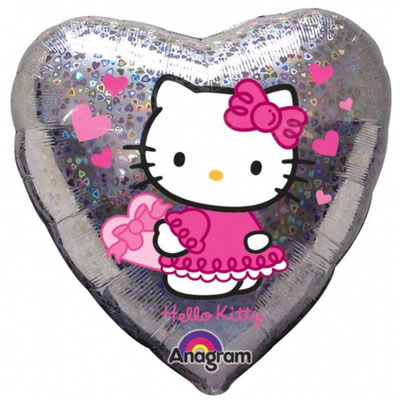 Hello Kitty silber (Helium)