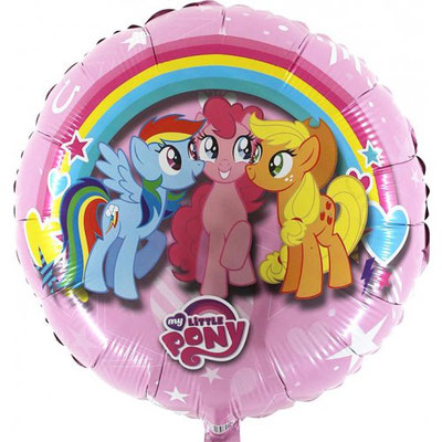 My little Pony, Rainbow Dash, Pinky Pie & Apple Jack (Helium)