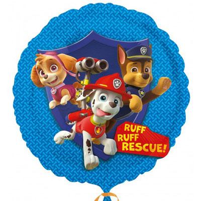 PAw PAtrol, Skye, Marshall & Chase (Helium)