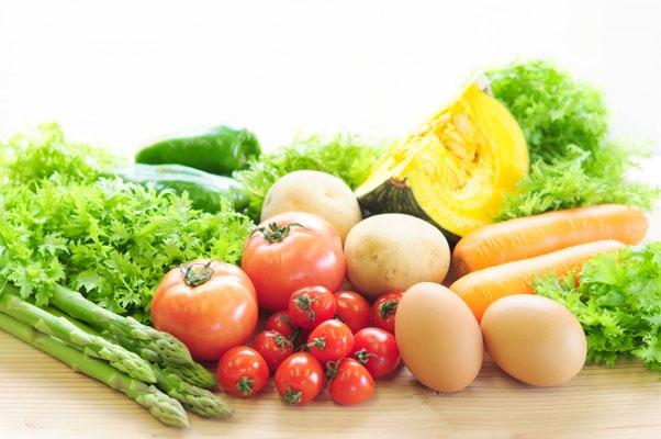 筋肉量の維持や筋肉を大きくするために必要な栄養素