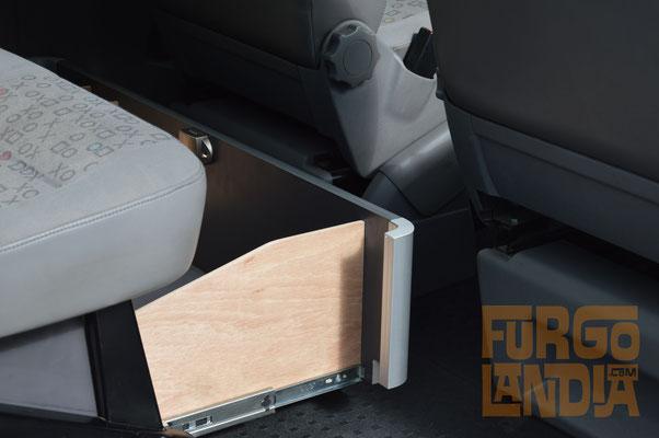 Cajón asiento volkwagen T5 T6