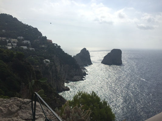 I Fariglioni rocks seen from Giardini di Agosto