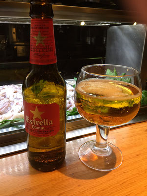 One of the more popular beers in Spain