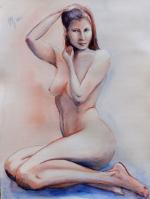 Figura 11. Watercolor, paper, 29x42cm, 12-2010