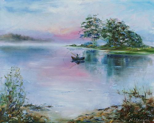 Morning Oil on canvas, 40x50cm, 2016
