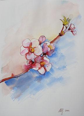 Watercolor, 30x40cm. 2014