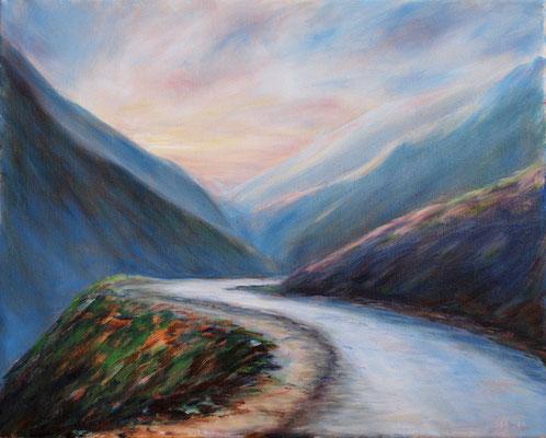 Morning light..Oil on canvas, 40x50cm, 01-2011.