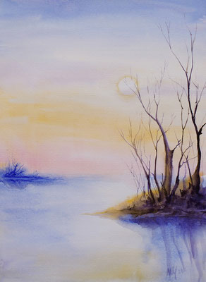 Swamp, waterrcolor, 29x42cm, 09-2011. Sold