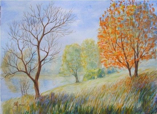 Autumn, 30x40cm, 11-2009.