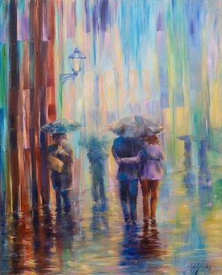 Acrylic on canvas, 40x50cm, 06-2013.Sold