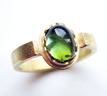 Karolinchen • Ring 2010 • Gold 750, Turmalin