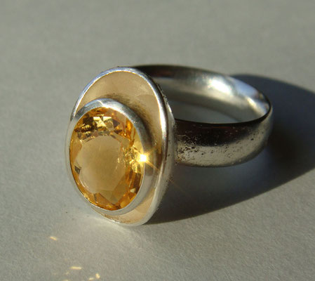 eierling • Ring 2014 • Silber, Citrin hell • private collection