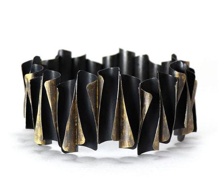 Enrolled • Armreif 2019 • Silber, Gold 999