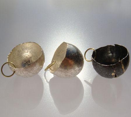 eierlinge • Halsschmuck 2013 • Silber, Gold 750