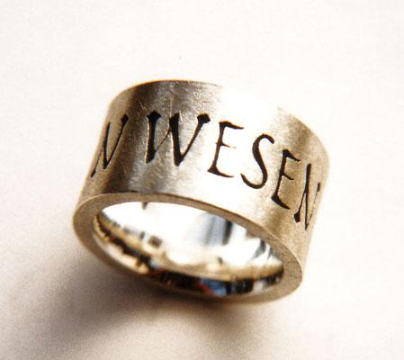 Freude allen Wesen • Ring 2007 • Silber