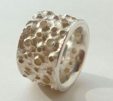 first sea ground • Ring 2008 • Silber