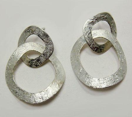 Limestone • Ohrringe 2016 • Silber