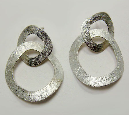 Limestone • Ohrstecker 2016 • Silber