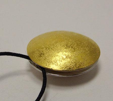 sun & moon granit Ø 20 mm • Gold 999, Silber