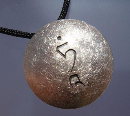 Tara TAM Ø 26 mm • Silber teils geschwärzt