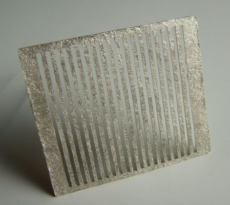 forged lines • Brosche 2011 • Silber