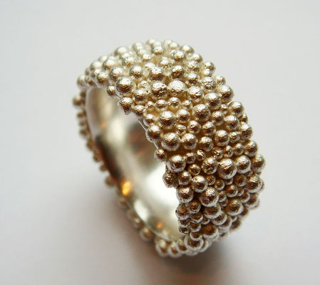 Little Bubbles • Ring 2011 • Silber • private collection