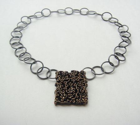 Weaving • Halsschmuck 2008 • Bronze, Silber